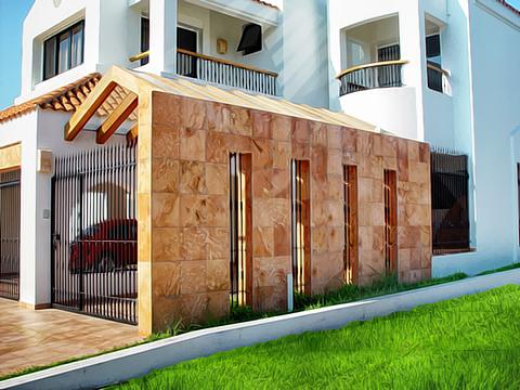 Dise o y decoraci n de muros y fachadas nicole design - Recubrimientos para fachadas ...